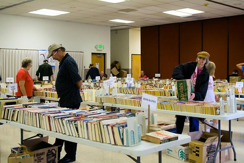Used Book Sale in Stayton Oregon