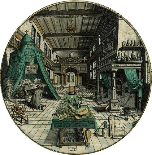 Alchemist's Laboratory (Khunrath)
