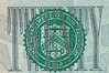 Twenty Dollar Bill Logo Macro (thejeffreywscott) Tags: money currency 20bill papermoney twentydollarbill uscurrency federalreservenote usmoney macropicture treasurynotelogo
