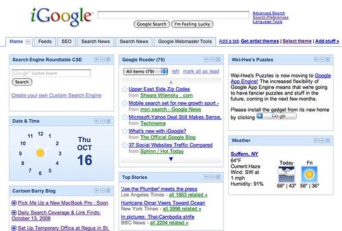 Old iGoogle