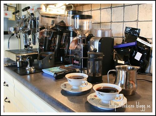 Kallbryggning av kaffe