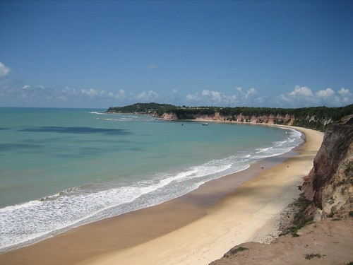 Baia dos Golfinhos (Bay of Dolphins), Pipa, Brazil