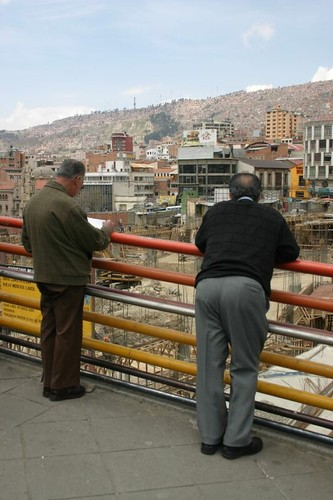 La Paz street life...