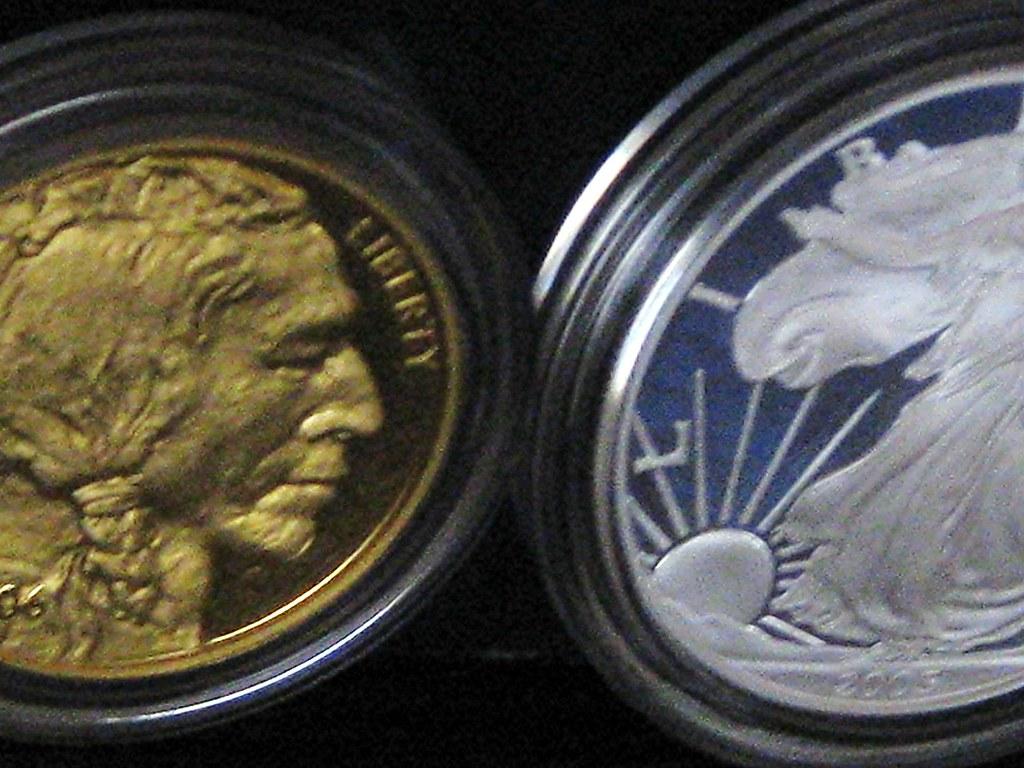 amethyst gold & silver