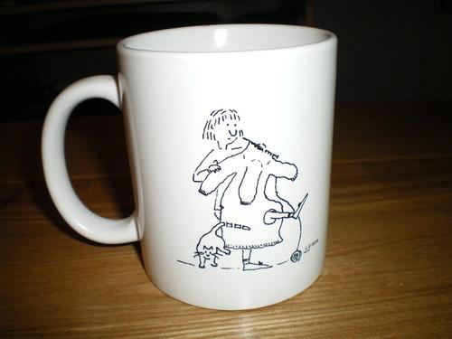 Marge mug - front