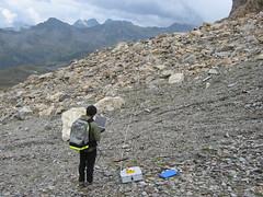 GPR Survey Glorer Htte (Martin Geilhausen) Tags: university fieldtrip uppertauern pasterze2006glorerhuette2008 gprsurvey glorerhuette2008