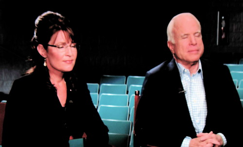 John McCain and Sarah Palin Pray for America by Rupert Pumpkin.