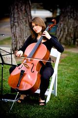Cello (sfPhotocraft) Tags: wedding lawn melissa cello strings pasadena muscian melissasolomon waldorfteacher