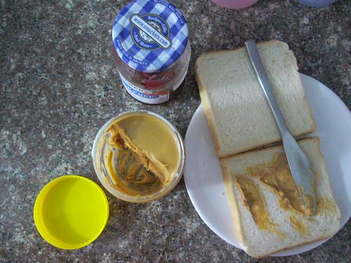 Peanut butter ritual