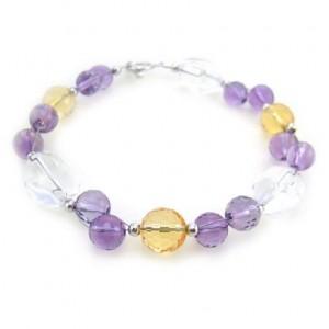 Sterling Silver Multi-Bead Bracelet
