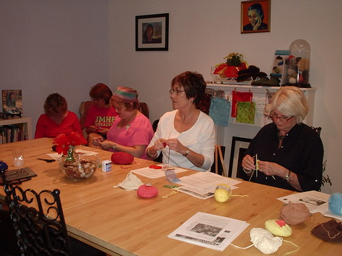 Tit Knitters at Gauge