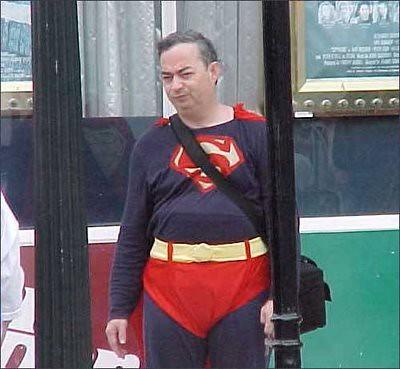 Superman con un mal día