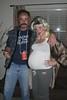 Halloween 2008 (McClaran) Tags: baby white halloween beer trash costume mullet belly redneck mustache 2008