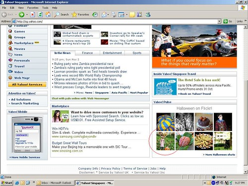 Yahoo sg - I submitted my site wowcheers com sg to yahoo but still