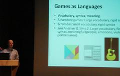Jesper Juul: Games as Language (inju) Tags: buffalo singapore mit visualarts culture theory rules videogames gaming study motivation ub academic cfa jesperjuul ludology