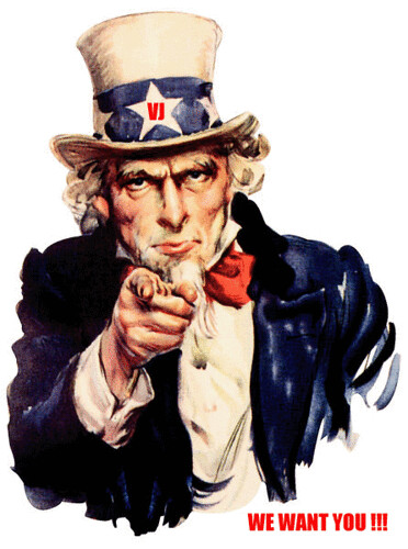 WE WANT YOU !!!