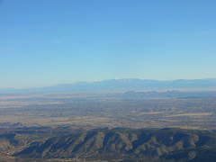 Cerrillos Hills and Sangre de Cristo Mountains
