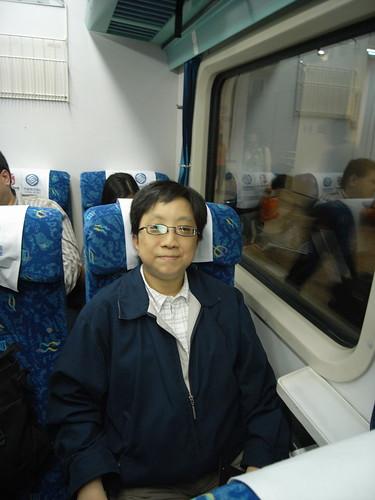 Vista搭火車到廣州