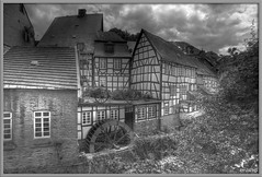 1494 Monschau - b/w version (-salzherz-) Tags: bw germany hdr monschau aficionados aplusphoto pentaxk10 great123