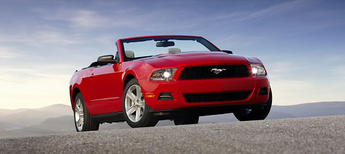 National Speed 2010 Mustang Front