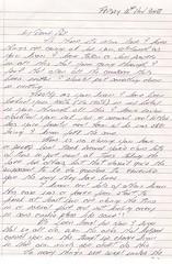 Pat's Mum Letter 1