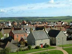 Poundbury rooftops (by: Duchy of Cornwall)