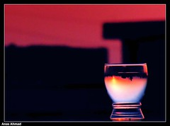 Wintered Dawn - North Karachi (Anas Ahmad) Tags: winter red art water glass dawn north digitalart creative ahmad karachi ahmed anas northkarachi anasahmad anasahmadphotography