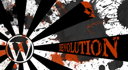 Image by Tom Woodward: WordPress Revolution
