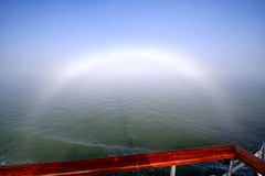 2008-10-12- 297_1 Fog-bow - River Thames Estuary (from PS Waverley October 2008) (Martin-James) Tags: autumn mist fog october explore 2008 riverview lighteffect fogbow paddlesteamer thamesview thamesestuary pswaverley platinumphoto anawesomeshot historicboats elitephotography rthames goldstaraward rubyphotographer goldenheartaward jediphotographer thamesideview