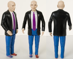 Seth Godin Action Figure - Painted Prototype WIth Demon Eyes