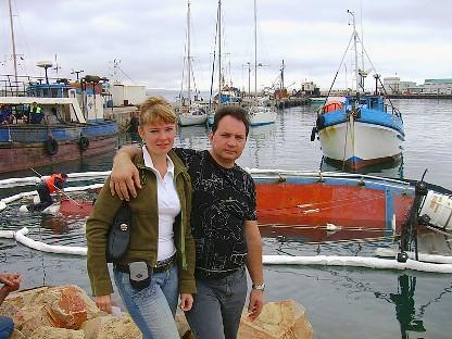 Необыкновенные приключения русских в ЮАР, часть 6, Моссел Бей, Васко да Гама, экскурсия к котикам, авт DIK DIK