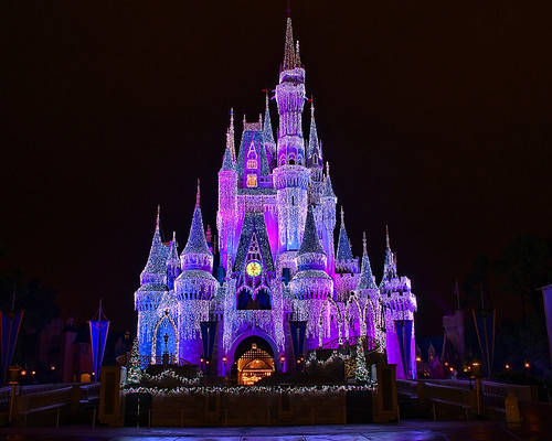 Disney - Cinderella Castle Dream Lights (Explored)