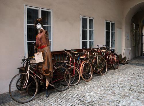 La ciclista de Hamelin