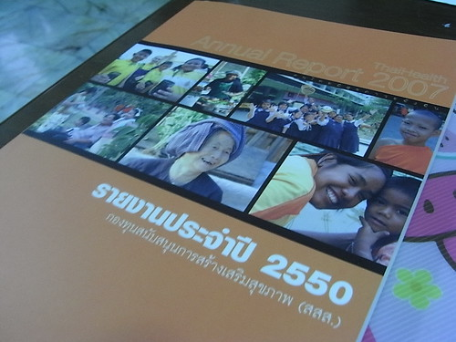 ThaiHealth Annual Report 2007