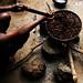 Sierra Leone - Roasting Palm Seeds