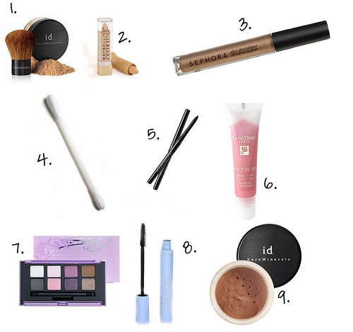 My Top Ten (minus one): Make up