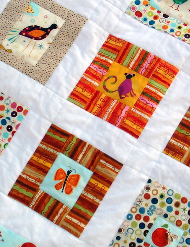 quilt top c close-up