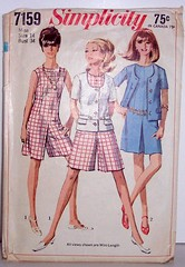 vintage Simplicity Pattern 7159 Culotte Dress Size 10 Bust 34 Waist 26 Hip 36 (Sassy By Design) Tags: she vintage clothing flickr pattern dress sewing womens international cast etsy culotte sewingpatterns size14 bust34 sassybydesign waist26 hip36 simplicity7159