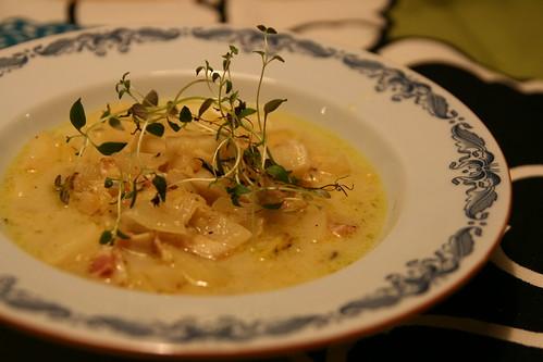 Italiensk linssoppa