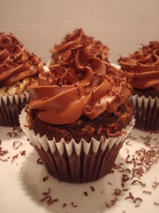 Chocolate surprise cupcake