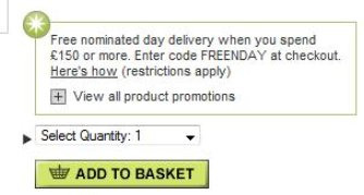 M&S delivery options