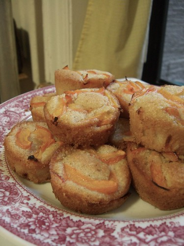 Apricot and Lavender Brown Butter Tea Cakes