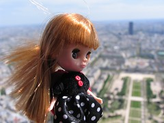 Butters at the top of the Eiffel Tower