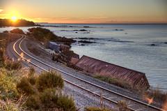 OOOPPPSSS!!! (Sean Savery Photography) Tags: train penguin pentax crash australia tasmania hdr k5 traincrash photomatix smcda1650mmf28 topazadjust seansaveryphotography