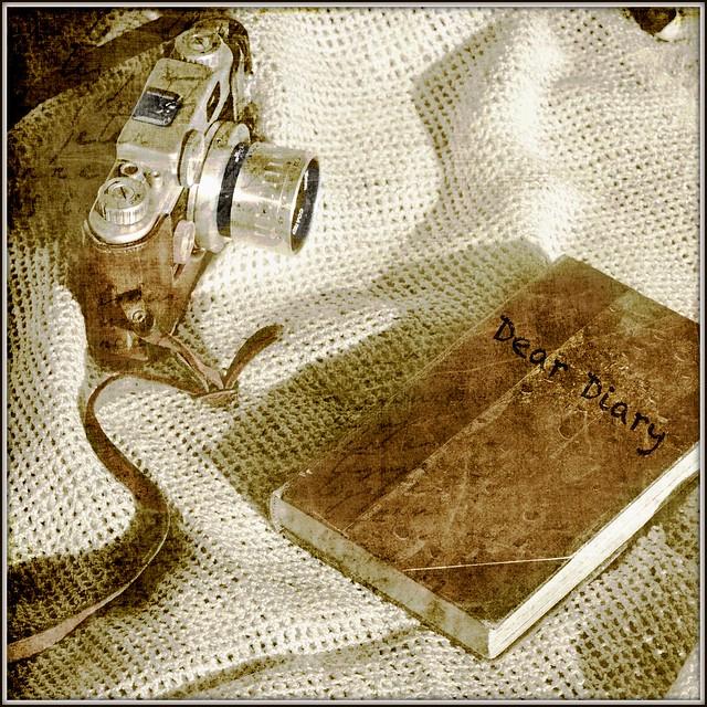 Texture tuesday dear diary