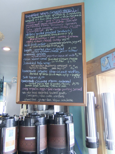 Breakfast Menu, Joni's