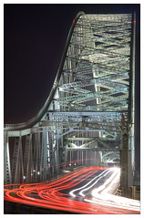 Runcorn Bridge 15x10 (teasdale.nick) Tags: longexposure lighttrails runcornbridge