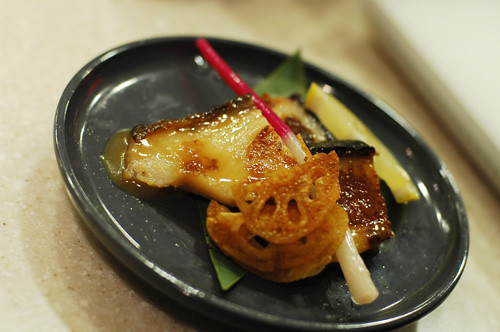 Black cod miso that melts in your mouth.