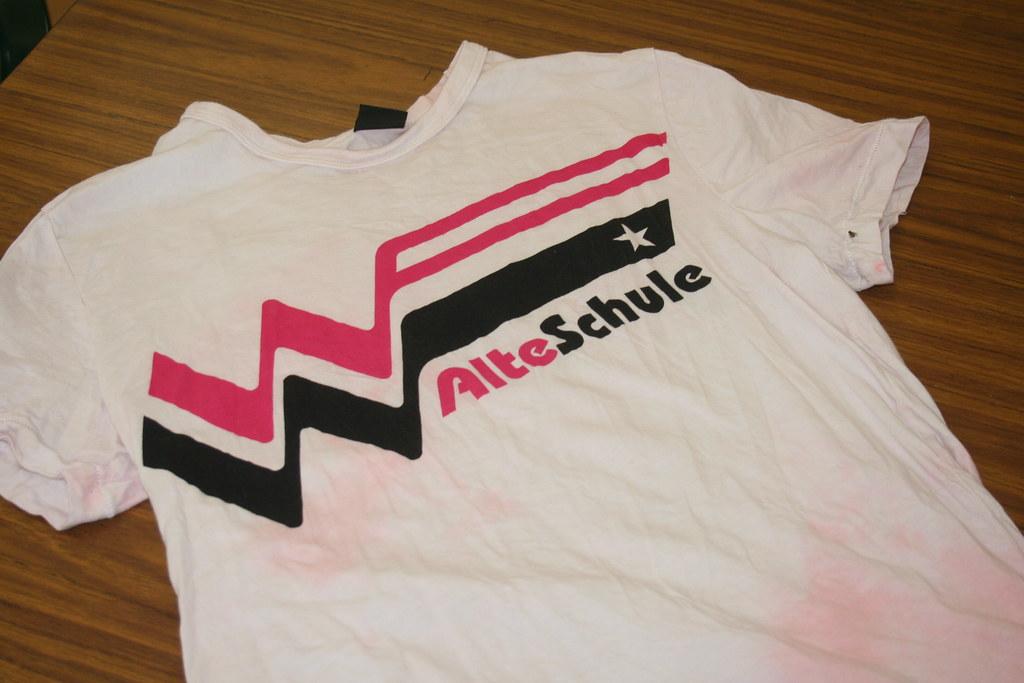 Klaus' new shirt