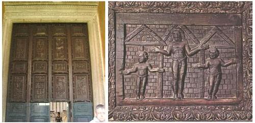 santa sabina puerta